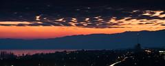 Coucher de soleil sur le lac (1) (DeGust) Tags: schweiz switzerland nikon suisse svizzera vaud romandie nikkor80200mmf28 d700 gustavedeghilage