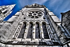 Saint Finbarre's Cathedral, Cork, Ireland (mick dunne) Tags: street ireland church glass religious republic cathedral god cork finbarrs religion praying quay stained bishops hdr protestant finbars probys churchofireland stfinbarres tonalmapping