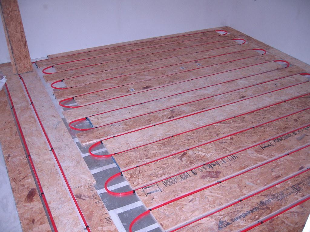 Radiant Floor - Master