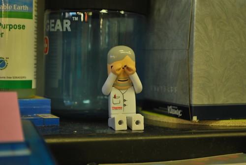 lab goggles