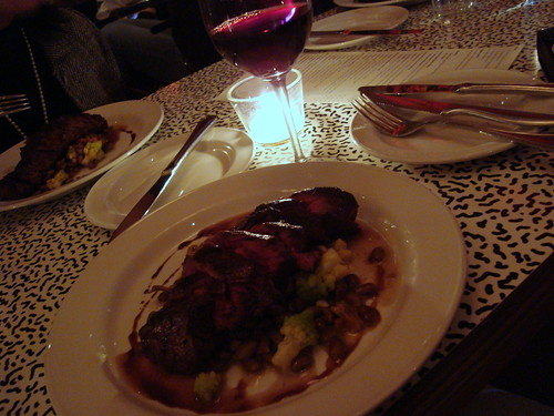 Hanger Steak + Southern Rhone