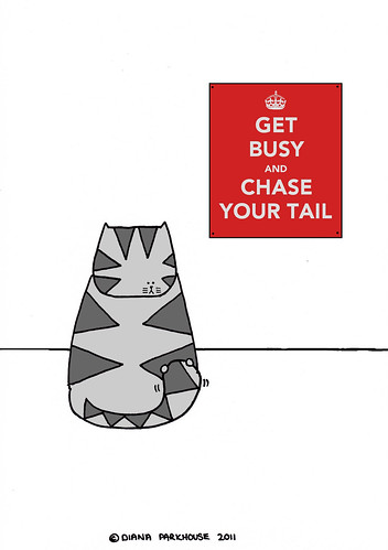 KEEP CALM - TAIL