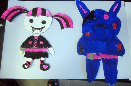 designing monster dolls