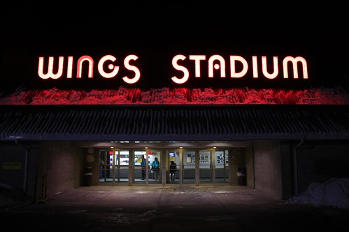 Day 90/365: Wings Stadium