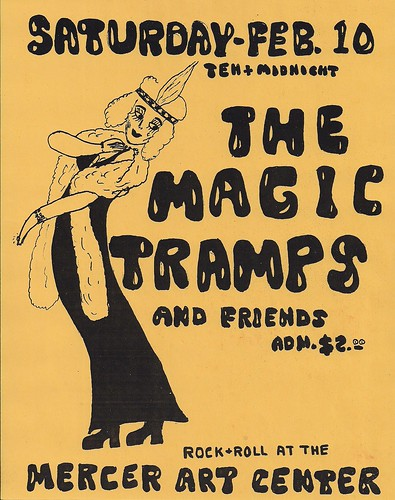 02/10/73 Magic Tramps @ Mercer Arts Center, NYC, NY