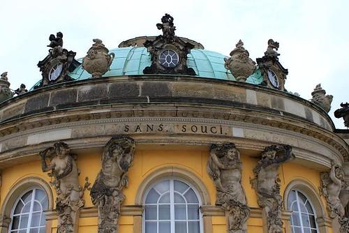 Sanssouci Palace in Park Sanssouci