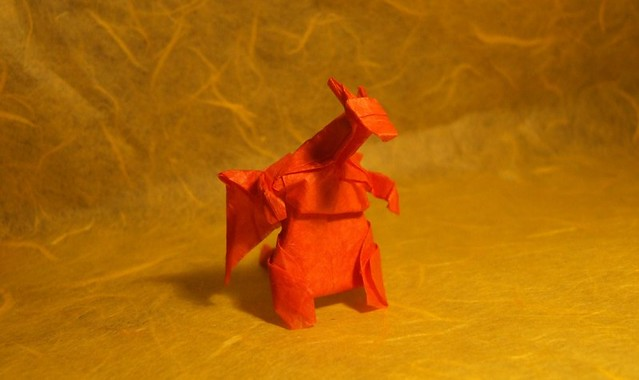 Origami pokemon instructions charmander