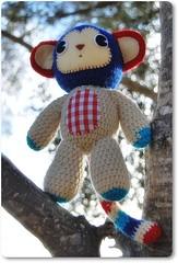 De Estraperlo - Smonkey (De Estraperlo) Tags: kids arbol toys monkey mono crochet felt softies gift monsters amigurumi cartagena monstruos muecos madeinspain ganchillo fieltro artesaniatextil deestraperlo