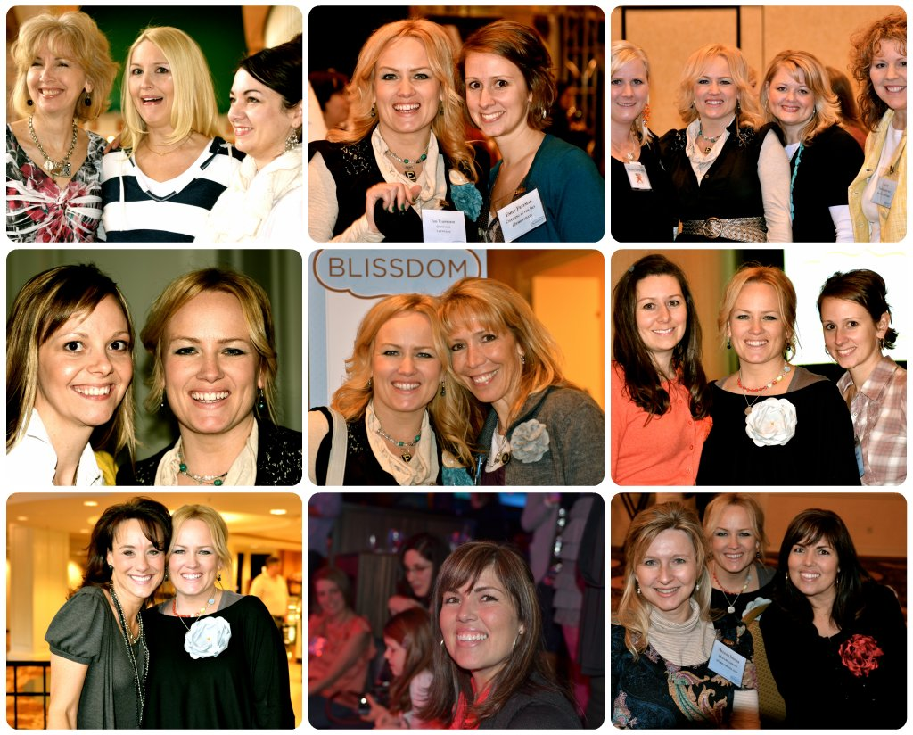 blissdom collage