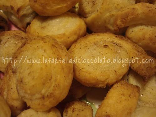 Bocconcini di Sfoglia con Zucchero e Cannella