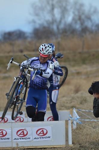 Cyclocross race.