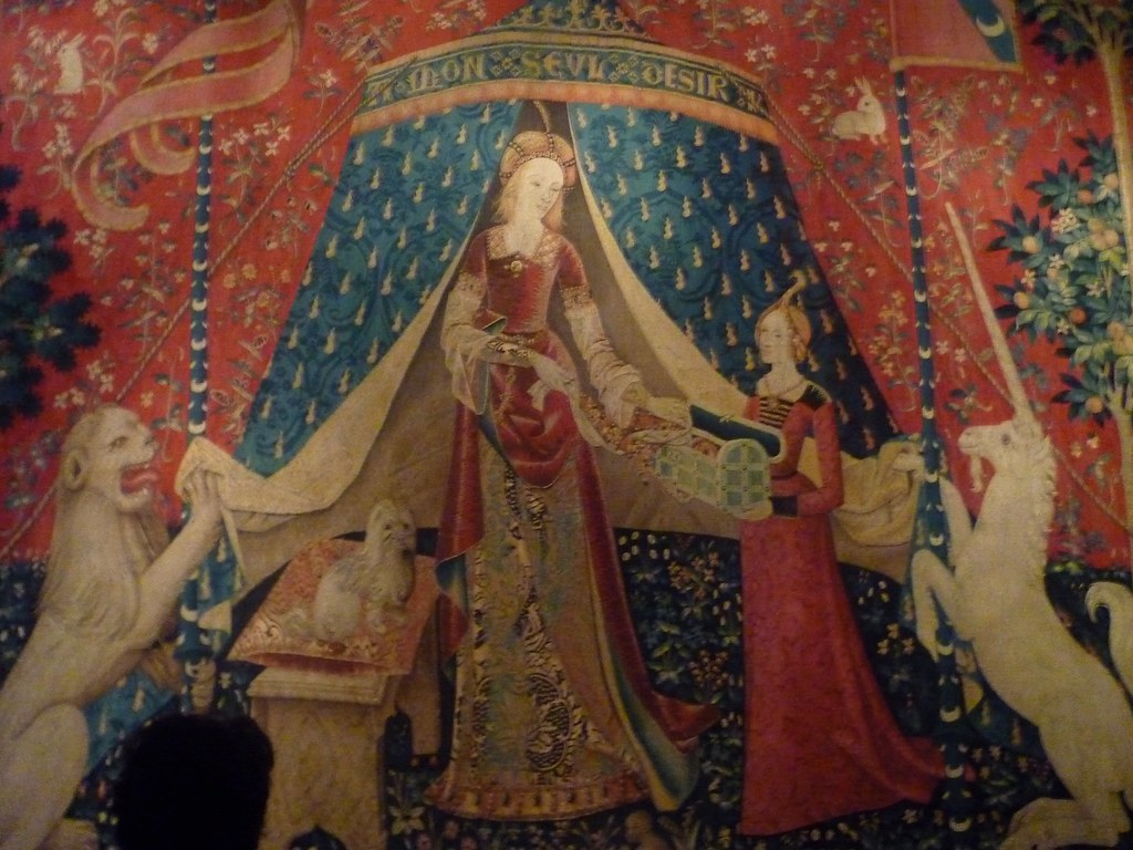 lady and the unicorn tapestry 5