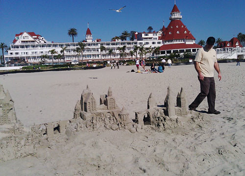 Hotel Del on the Beach