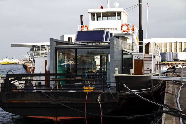 Car Ferry Converted to Offices