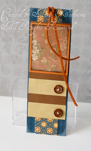 """Elinor"" bookmark"