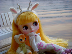 She is a river deer......