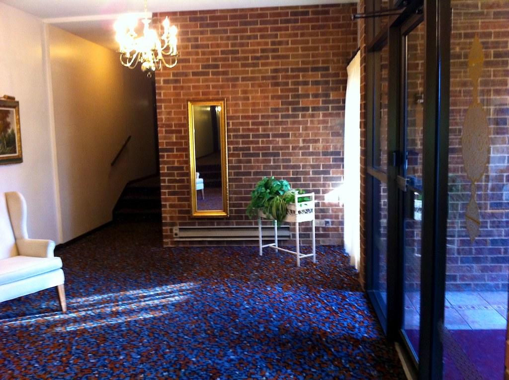 lobby - before