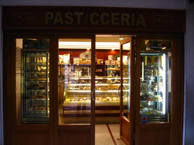 ヴェネツィアのカフェのフリー写真素材