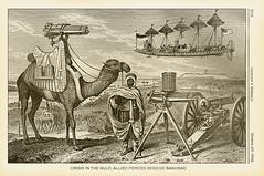 Camel Gatling Gun with Airship