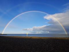 Faint double rainbow (turgidson) Tags: ireland s