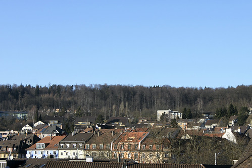 Blick aus der Dachlukarne Richtung Nordwesten