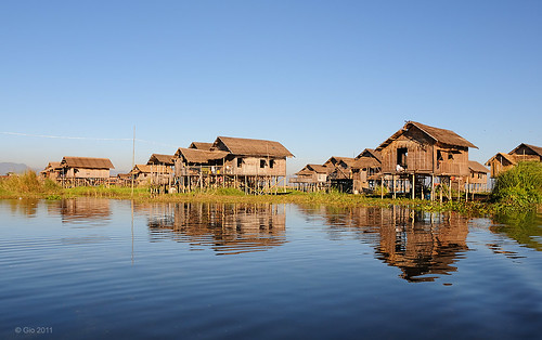Inle lake village - Myanmar