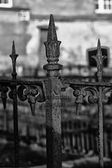 Grave Fence (Bram Reinders(on-off)) Tags: blackandwhite bw holland art church grave fence zwartwit kunst sony graf digitalart nederland thenetherlands groningen hek appingedam sonyalpha sigma1770f2845dc digitalekunst tjamsweer sonyalpha700 gravefence bramreinders ©bramreinders tjamsweersterkerk nieuwsgierigheidisdebronvanallekennis curiosityisthesourceofallknowledge ©bramreindersfarmsum