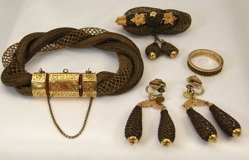 victorian-hair-jewelry