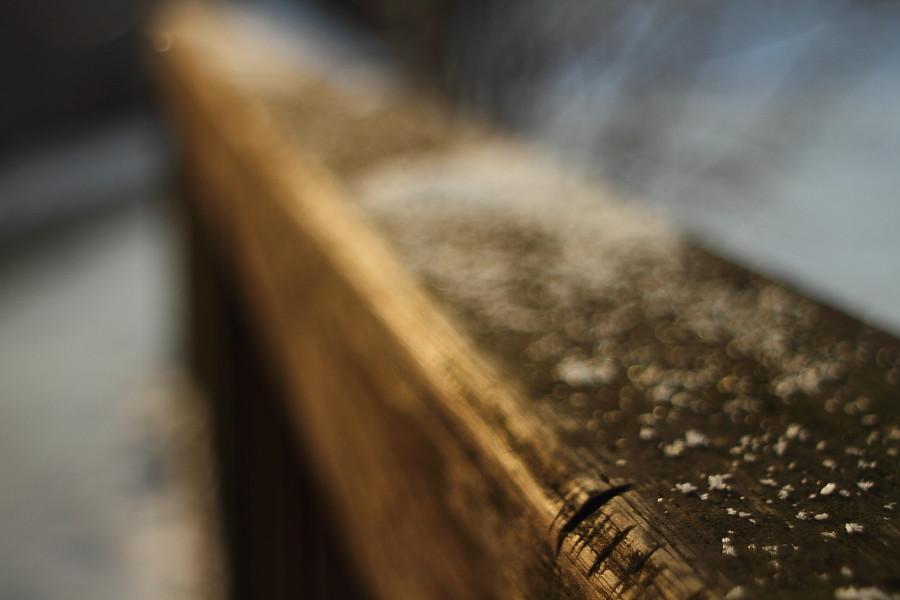 Wooden Bar Code