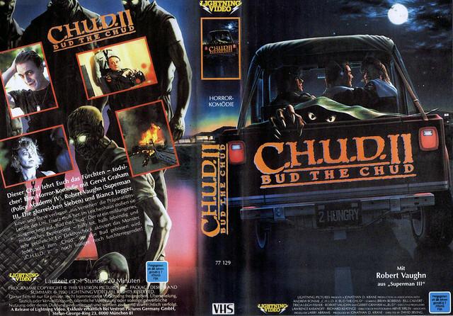 C.H.U.D. 2 (VHS Box Art)