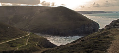 Looking back to Chapel Porth. (jamez58) Tags: midfebruary wounding wondering