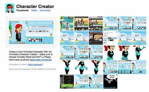 Goanimate Comedy World Character Creator Game