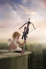 city valentine cupid crossbow 2010 iphone ipodtouch iphonewallpaper brettjordan ipodtouchwallpaper