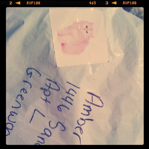 Package from Audreybug~