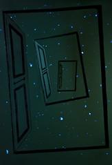 (Ana Momm) Tags: luz estrelas desenho galaxia portas planetas dimensão