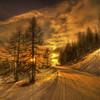 I like the morning! (rinogas) Tags: morning italy snow clouds sunrise torino nikon piemonte hdr msm sestriere nikkor1224 valledisusa rinogas magicunicornverybest