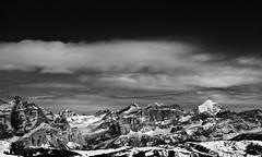 beyond infinity... (giorgio-pix) Tags: bw nature clouds infinity silence dolomites endless faraway nikond200 beautifulfeeling