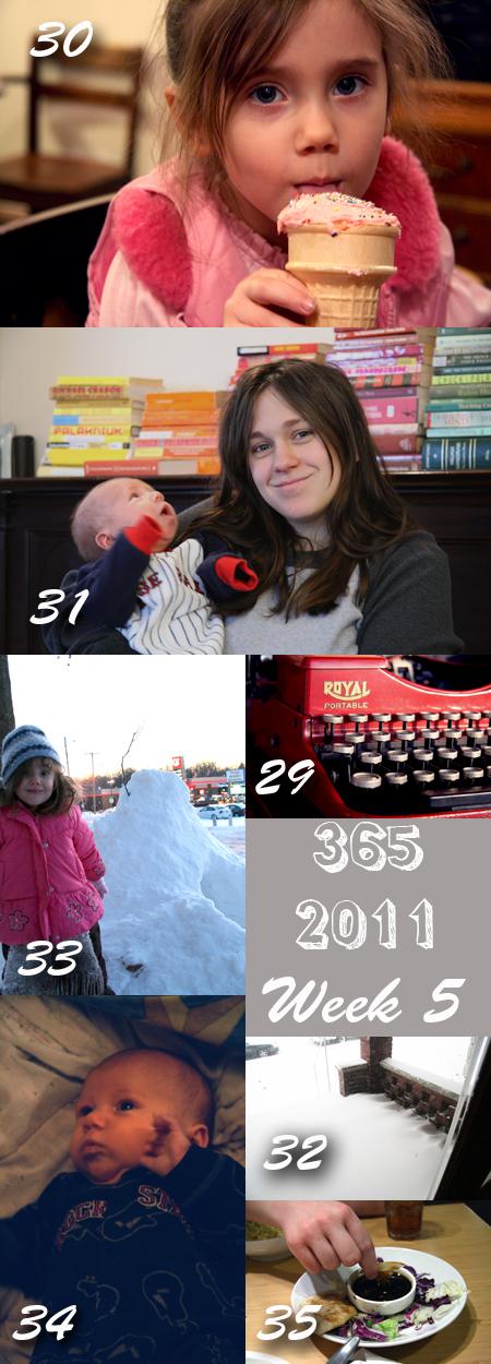 365 2011 Week 5