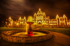 Parliament Buildings, Victoria, BC (Lisa Bettany {Mostly Lisa}) Tags: victoriabc innerharbour parliamentbuildings bcparliamentbuildings mostly365