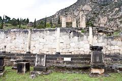 Polygonal Wall_8308 (hkoons) Tags: archaeology stone wall museum greek oracle mason columns masonry delphi unesco greece sacred krissa python blocks column apollo parnassos stoa sacredplaces ancientwall kastri delfi omphalos pythia stoaoftheathenians mountparnassus chrisso itea gulfofcorinth mtparnassos pythiangames polygonalwall oracleofdelphi amphissa phocis delphioracle aathenianstoa amphictyonicleague gulfofitea phaedradesrocks worldwideculturalheritage sanctuaryofgodapollo phaedrades