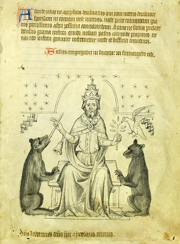 021-VadSlg Ms. 342- ©St. Gallen Kantonsbibliothek Vadianische Sammlung-Vaticinia de pontificibus-f 1