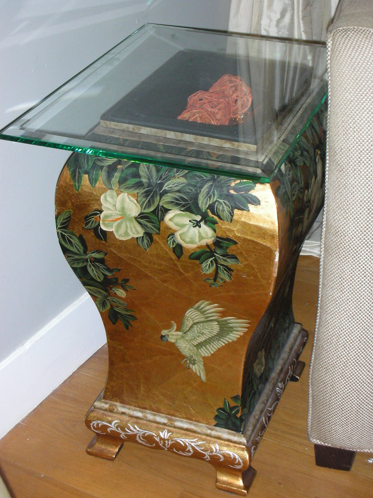 Decorative table top item or end table #2