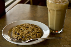 the way the cookie crumbles.... (shadowracer26) Tags: tmc cookie plate fork hss hcs coldpresscoffee shadowracer26
