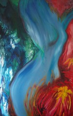 dancing in duality (Artfreakish) Tags: abstract art painting colorful modernart oilpainting figurative tima