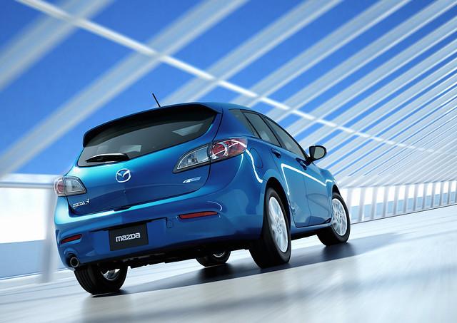2012 Mazda3 SKYACTIV at CANADA AutoShow