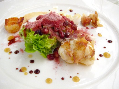 Lobster, Pomegranate
