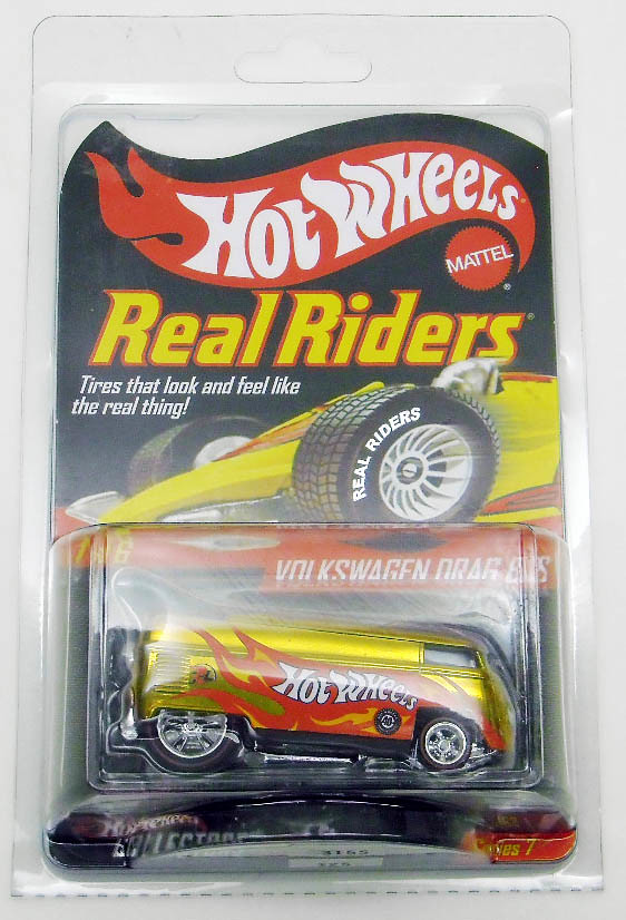 Hot Wheels Real Riders Series-gold (2008)