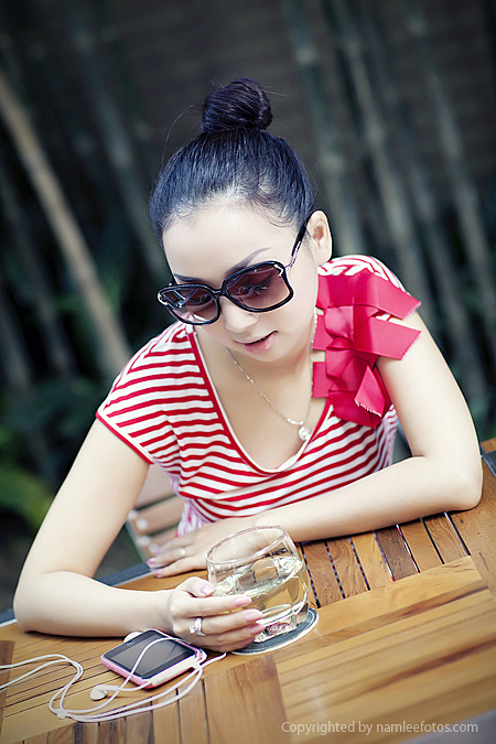 chân dung model Laura Lai