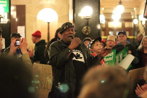 Week 2: A Tour of the Capitol's Protestor Occupation