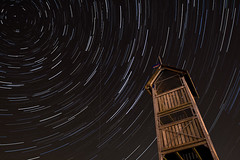 Star Trails in the Sky VII (Frenklin) Tags: longexposure sky holland netherlands skyline night canon skyscape stars star movement long exposure cityscape view nacht nederland thenetherlands trails silhouettes nighttime galaxy le astrophotography sirius orion betelgeuse rigel astronomy nightsky uitzicht groningen february avond lucht universe constellations 1740mm 1740 hemel stad constellation silhouet startrails februari kardinge ster sporen astronomie sterren 2011 stadsgezicht silhouetten heelal sterrenhemel astrofotografie kardingeberg kardingebult februari2011